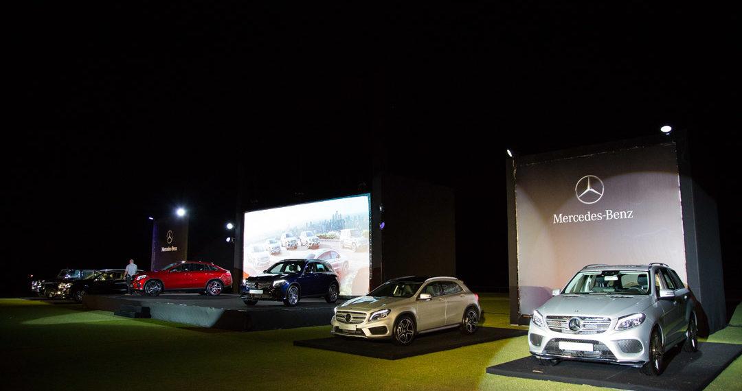 Lançamento Linha SUV Mercedes-Benz
